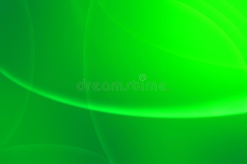 αφηρημένα πράσινα μαγικά κύμ&alpha στοκ φωτογραφία