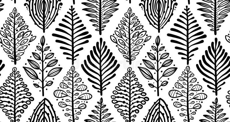 αφηρημένα φύλλα ανασκόπηση&s Μορφή ρόμβων Άνευ ραφής πρότυπο για το σχέδιό σας διανυσματική απεικόνιση