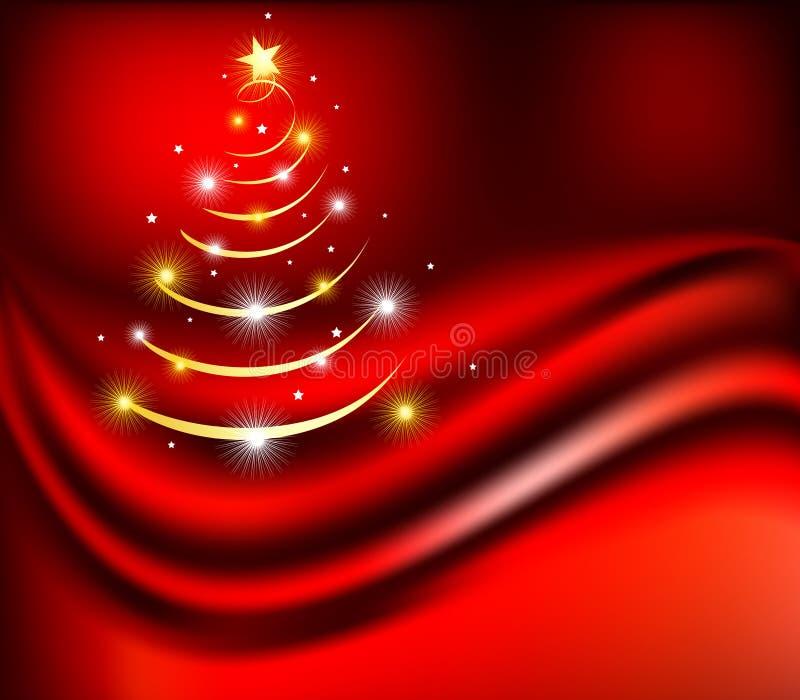 αφηρημένα Χριστούγεννα αν&alph διανυσματική απεικόνιση