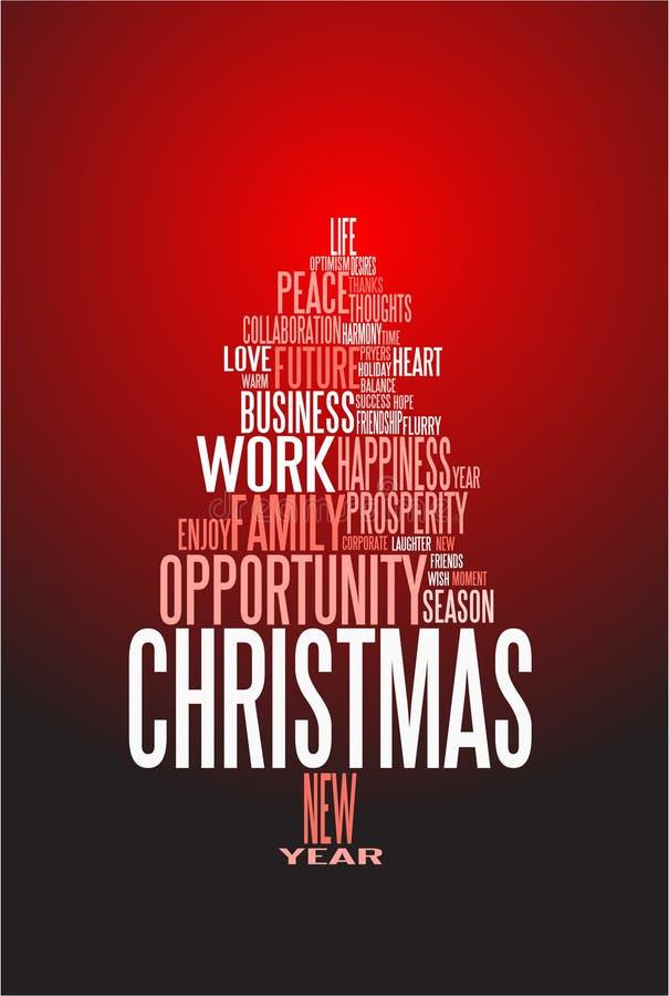 αφηρημένα Χριστούγεννα καρτών ελεύθερη απεικόνιση δικαιώματος
