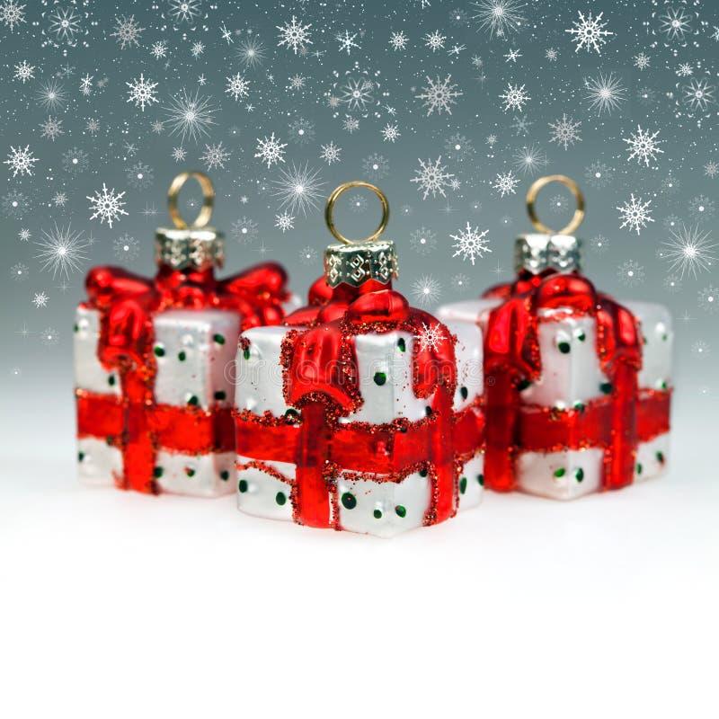 αφηρημένα Χριστούγεννα ντ&epsilo στοκ φωτογραφίες