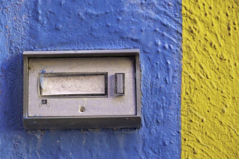 Αφηρημένα χρώματα Burano, Ιταλία στοκ εικόνα με δικαίωμα ελεύθερης χρήσης
