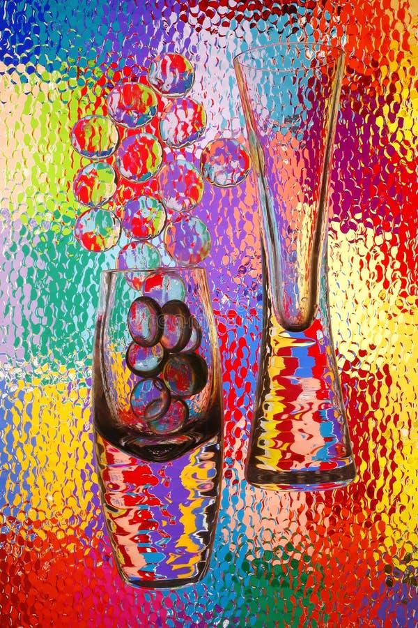 αφηρημένα vases στοκ εικόνες