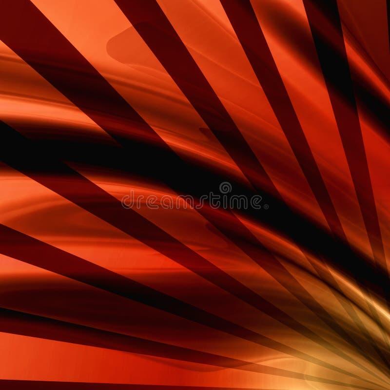 αφηρημένες ακτίνες ανασκό& διανυσματική απεικόνιση