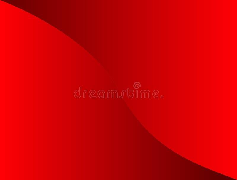 αφηρημένες ανασκοπήσεις Κόκκινος διανυσματική απεικόνιση