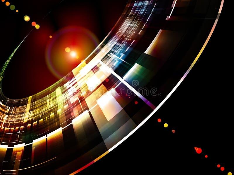 αφηρημένες διαστημικές τ&epsilo ελεύθερη απεικόνιση δικαιώματος