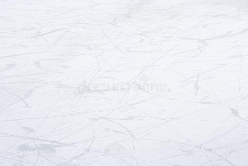 Αφηρημένες μαλακές γραμμές πατινάζ πάγου κακογραφίας στο άσπρο υπόβαθρο στοκ φωτογραφία με δικαίωμα ελεύθερης χρήσης