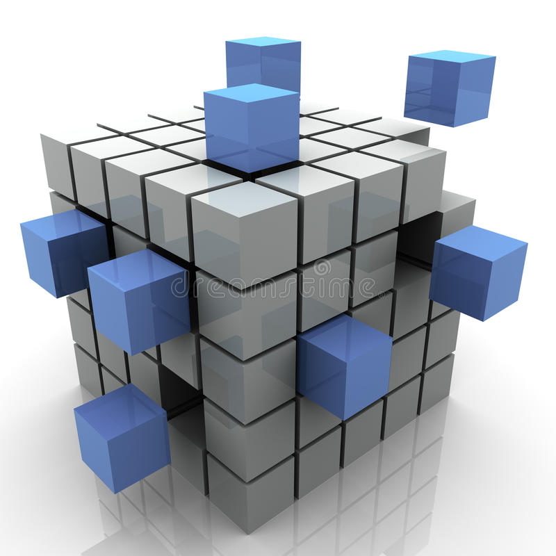 αφηρημένες ομάδες δεδομένων διανυσματική απεικόνιση