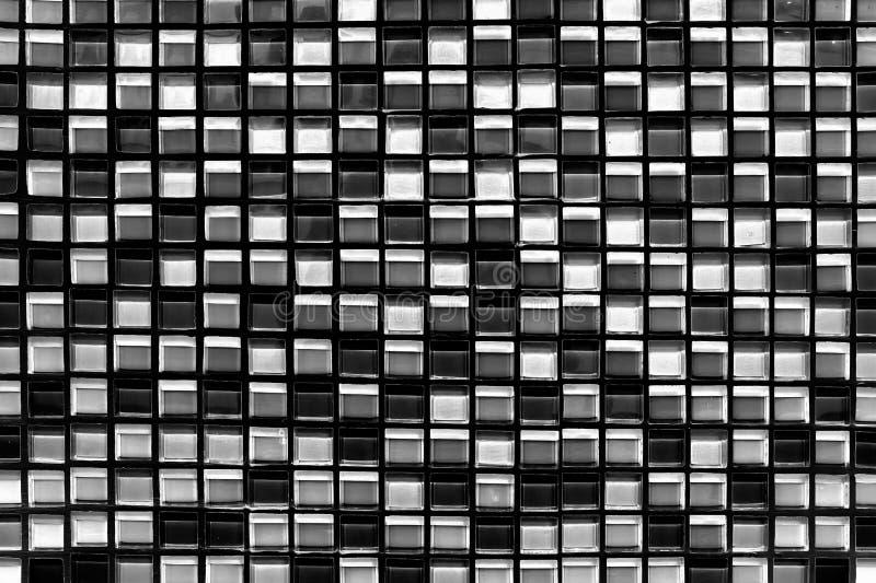 Αφηρημένες τετραγωνικές υπόβαθρο και σύσταση μωσαϊκών εικονοκυττάρου στοκ εικόνες