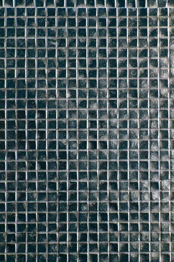 Αφηρημένες τετραγωνικές υπόβαθρο και σύσταση τοίχων μωσαϊκών εικονοκυττάρου στοκ εικόνες