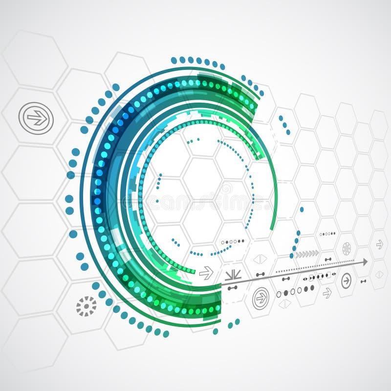 Αφηρημένες υπόβαθρο τεχνολογίας χρώματος/επιχείρηση τεχνολογίας υπολογιστών διανυσματική απεικόνιση