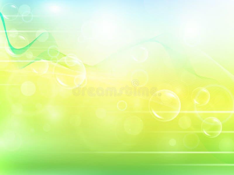 αφηρημένες aery φυσαλίδες α&n απεικόνιση αποθεμάτων