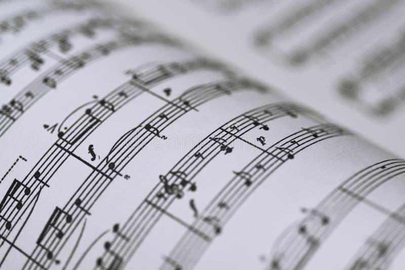 Αφηρημένη άποψη της μουσικής στοκ φωτογραφία με δικαίωμα ελεύθερης χρήσης