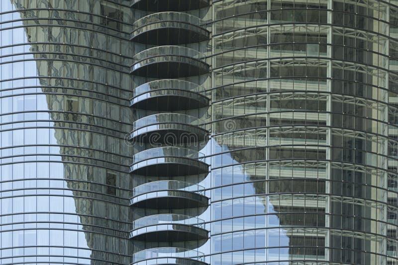 Αφηρημένη άποψη των κτηρίων στοκ φωτογραφία