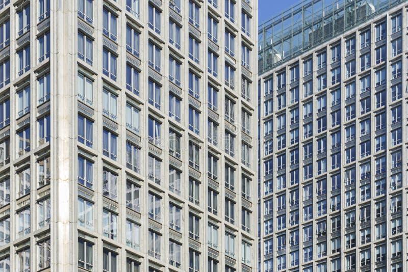 Αφηρημένη άποψη των κτηρίων στοκ εικόνα με δικαίωμα ελεύθερης χρήσης