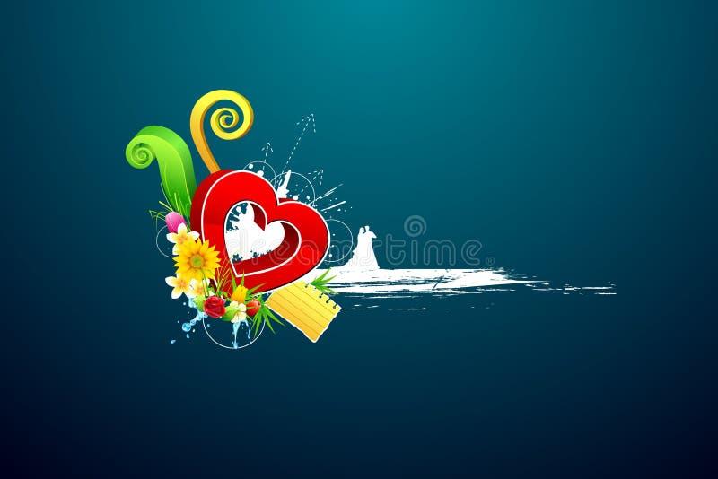 Download αφηρημένη αγάπη ζευγών ανασ& Διανυσματική απεικόνιση - εικονογραφία από εορτασμός, σχέδιο: 22778010