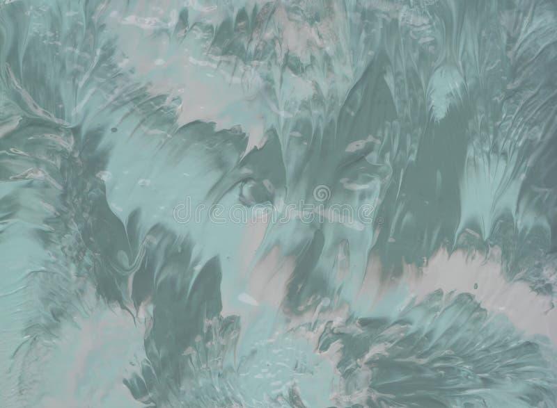 Αφηρημένη ακρυλική σύσταση ζωγραφικής χρώματος στοκ φωτογραφία