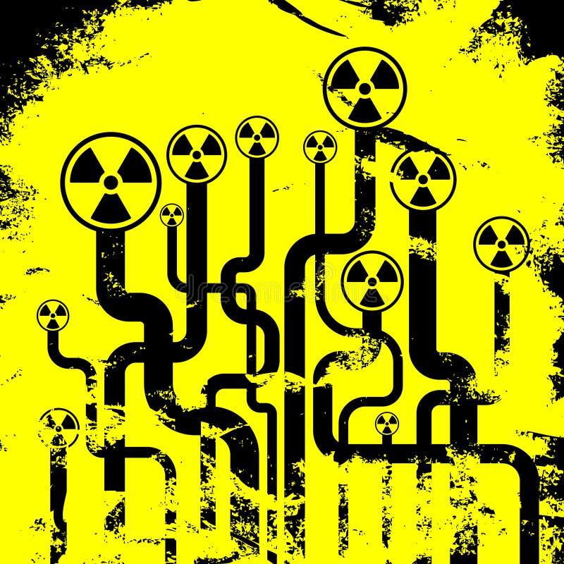 αφηρημένη ακτινοβολία ανασκόπησης απεικόνιση αποθεμάτων