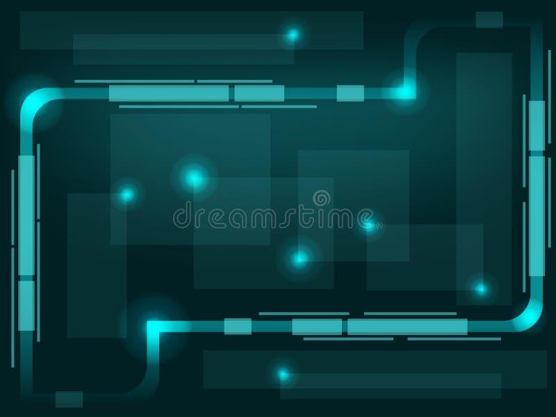 αφηρημένη αναδρομική τεχν&omicro απεικόνιση αποθεμάτων