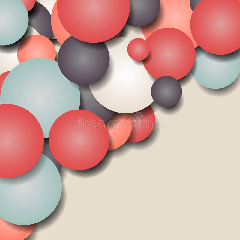αφηρημένη ανασκόπηση γεωμ&epsil επίσης corel σύρετε το διάνυσμα απεικόνισης διανυσματική απεικόνιση