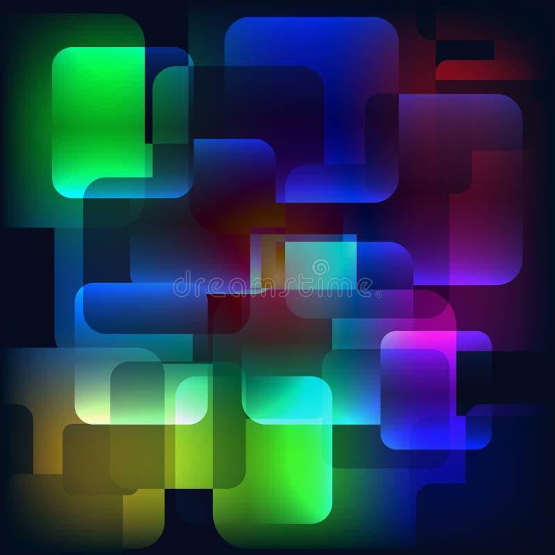 αφηρημένη ανασκόπηση γεωμ&epsil κομψό στοιχείο σχεδίου διανυσματική απεικόνιση