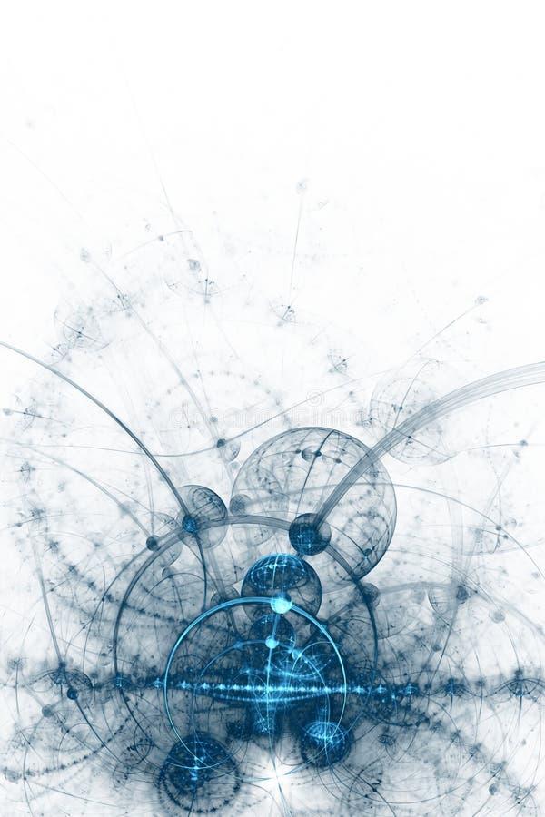 Αφηρημένη ανασκόπηση επιχειρησιακής επιστήμης ή τεχνολογίας διανυσματική απεικόνιση