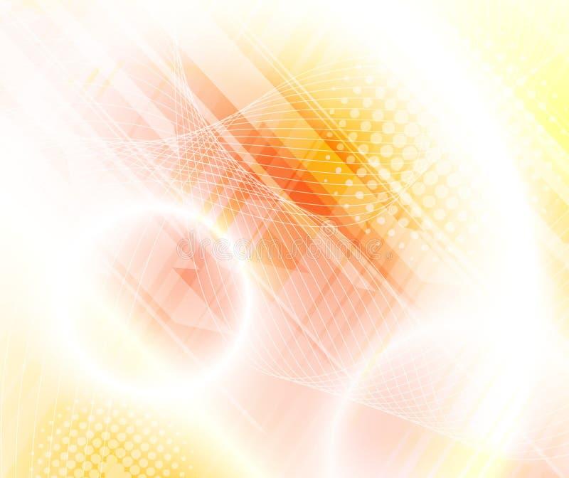 αφηρημένη ανασκόπηση κίτρινη διανυσματική απεικόνιση