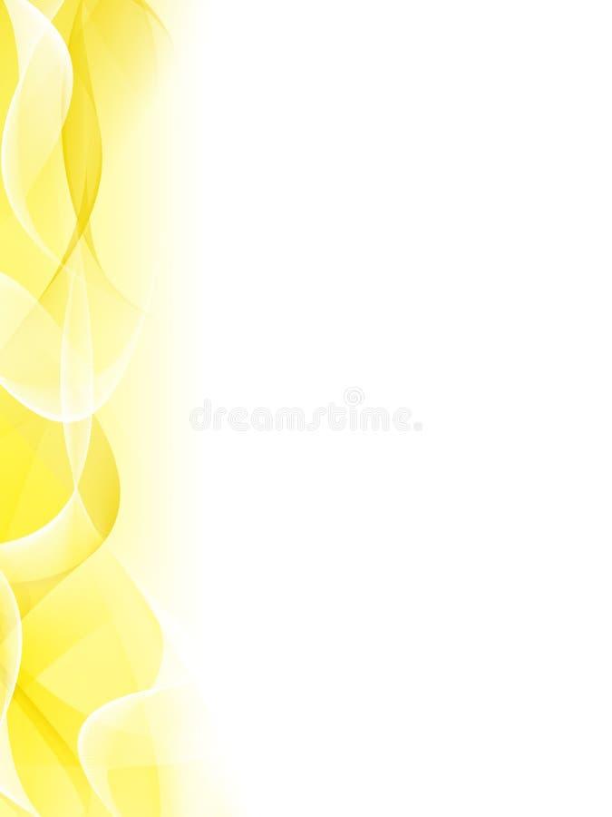 αφηρημένη ανασκόπηση κίτρινη απεικόνιση αποθεμάτων