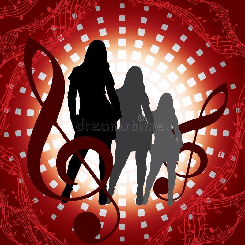 Αφηρημένη ανασκόπηση μουσικής ελεύθερη απεικόνιση δικαιώματος