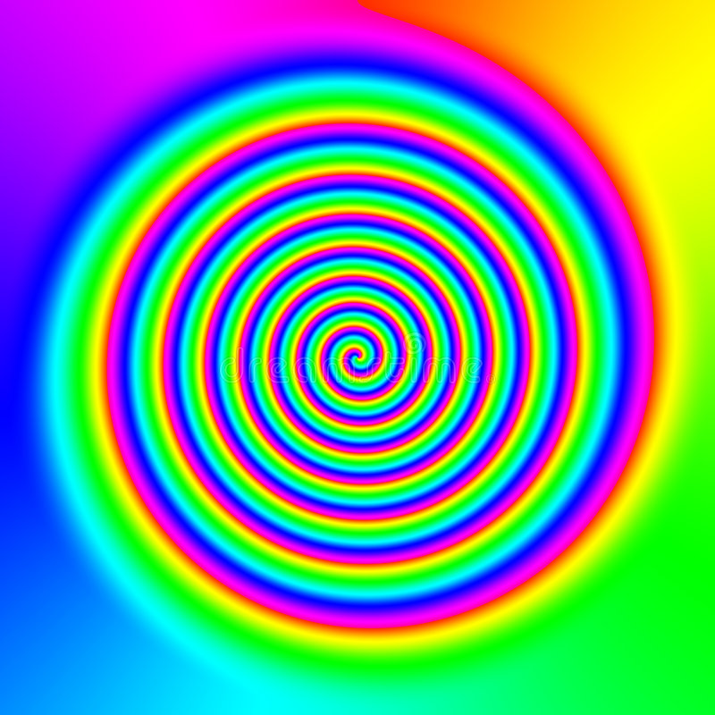 Αφηρημένη ανασκόπηση ουράνιων τόξων διανυσματική απεικόνιση