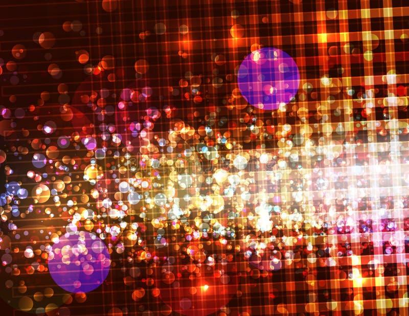 αφηρημένη ανασκόπηση που θολώνεται sparkly διανυσματική απεικόνιση