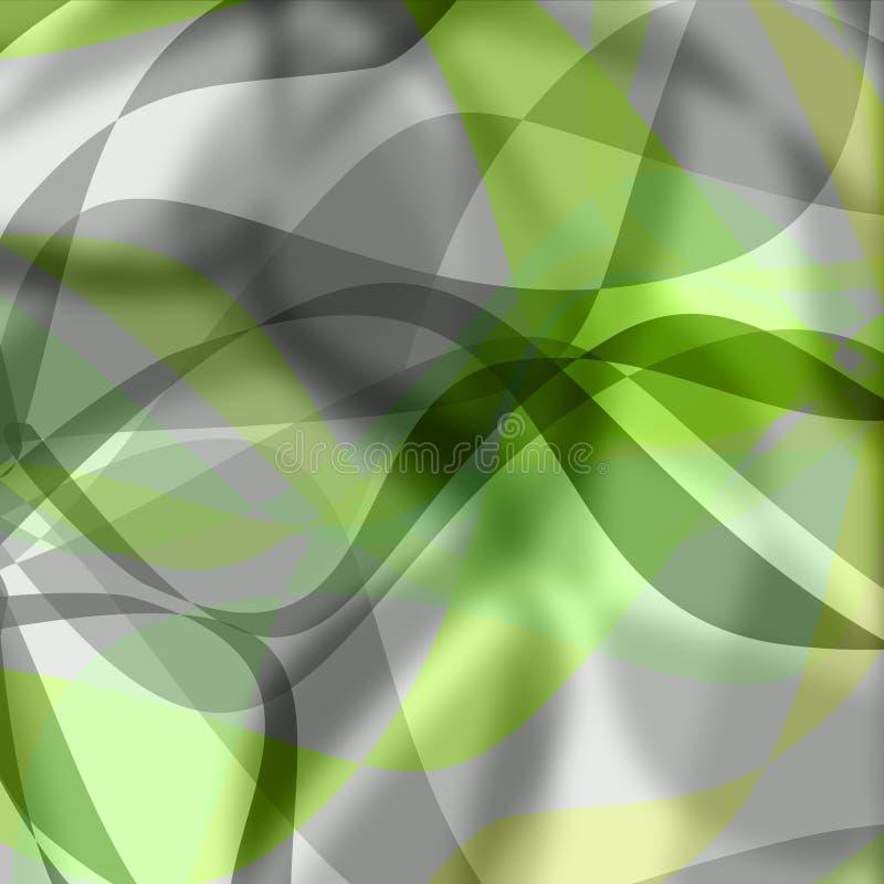 αφηρημένη ανασκόπηση πράσινη διανυσματική απεικόνιση