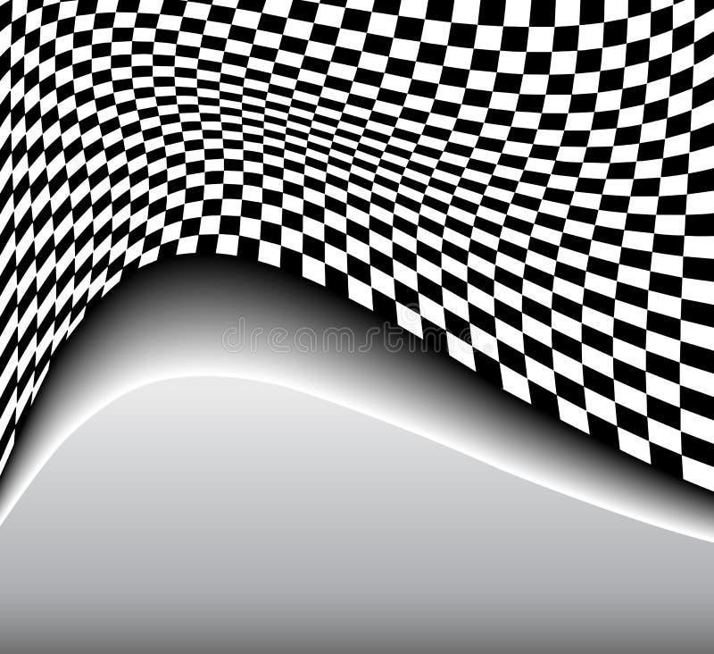 Αφηρημένη ανασκόπηση τρισδιάστατη διανυσματική απεικόνιση