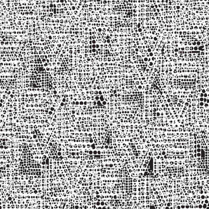 αφηρημένη ανασκόπηση χαοτι& διανυσματική απεικόνιση