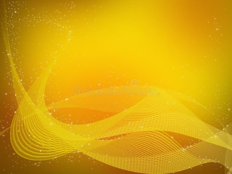 αφηρημένη ανασκόπηση χρυσή απεικόνιση αποθεμάτων