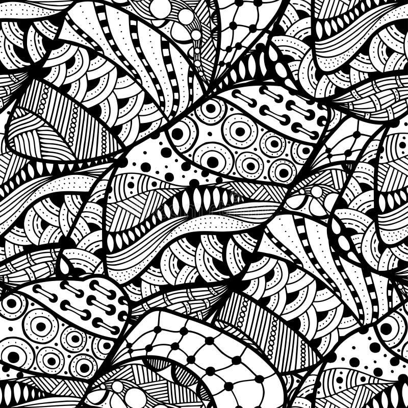 αφηρημένη ανασκόπηση doodle διανυσματική απεικόνιση