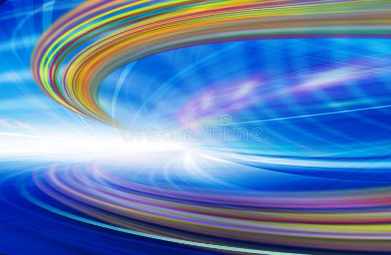 Αφηρημένη απεικόνιση τεχνολογίας υποβάθρου στοκ φωτογραφίες με δικαίωμα ελεύθερης χρήσης