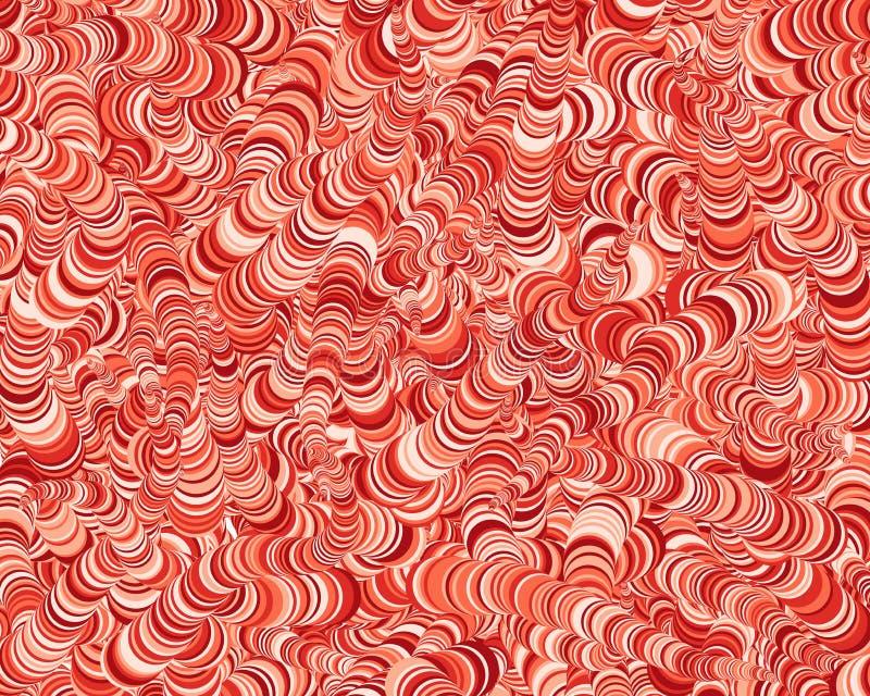 Αφηρημένη απεικόνιση υποβάθρου τέχνης κύκλων παραγωγική στοκ εικόνες