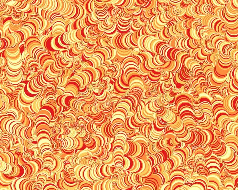 Αφηρημένη απεικόνιση υποβάθρου τέχνης κύκλων παραγωγική στοκ φωτογραφία με δικαίωμα ελεύθερης χρήσης