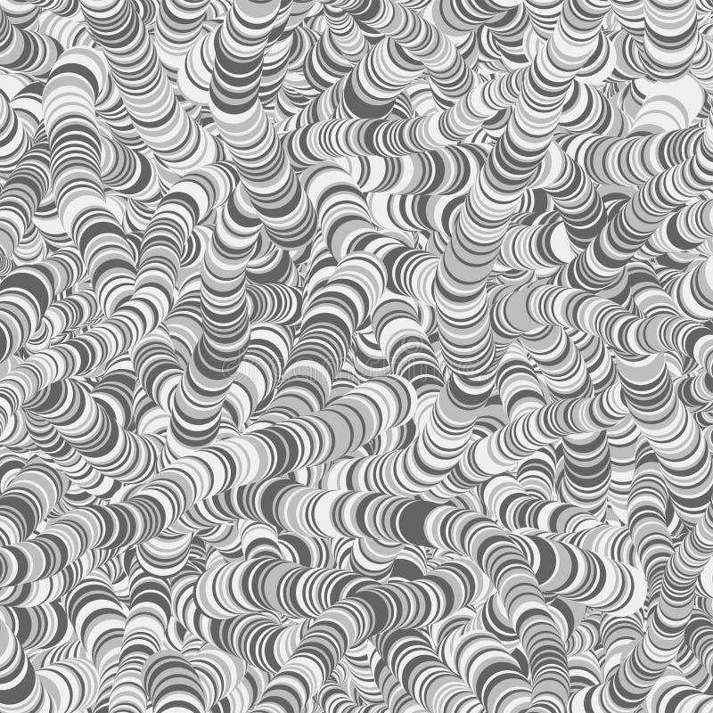 Αφηρημένη απεικόνιση υποβάθρου τέχνης κύκλων παραγωγική στοκ φωτογραφία