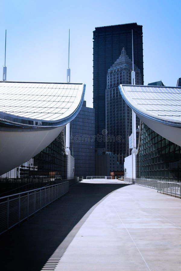 αφηρημένη αρχιτεκτονική σύγχρονη στοκ φωτογραφία