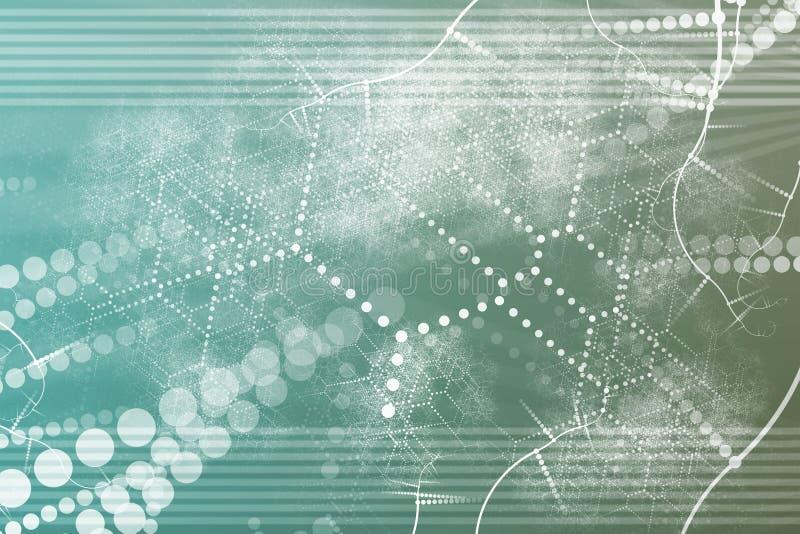 αφηρημένη βιομηχανική τεχνολογία δικτύων διανυσματική απεικόνιση
