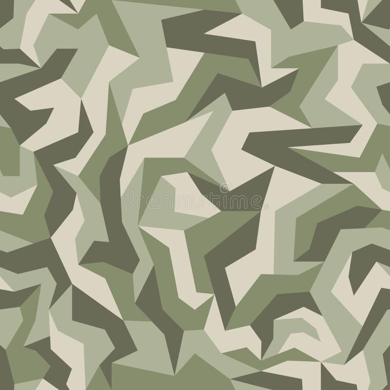 Αφηρημένη γεωμετρική κάλυψη, ξύλινο έδαφος, σχέδιο χρώματος φύλλων r Αστική άνευ ραφής σύσταση camo απεικόνιση αποθεμάτων