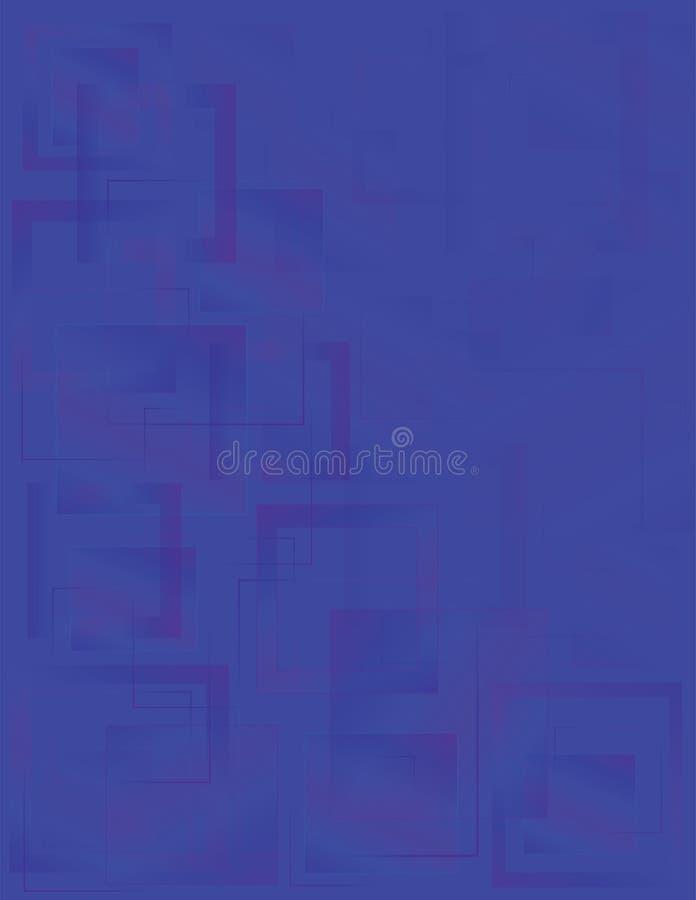 Αφηρημένη γεωμετρική μπλε απεικόνιση υποβάθρου για την παρουσίαση επιχείρησης απεικόνιση αποθεμάτων