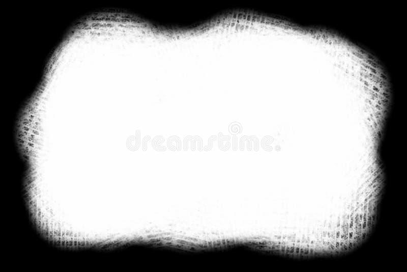 Αφηρημένη διακοσμητική μαύρη & άσπρη άκρη φωτογραφιών Κείμενο τύπων μέσα, χρήση ως επικάλυψη ή για τη μάσκα στρώματος/ψαλίδισμα απεικόνιση αποθεμάτων