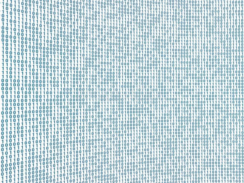 αφηρημένη εικόνα κώδικα διανυσματική απεικόνιση