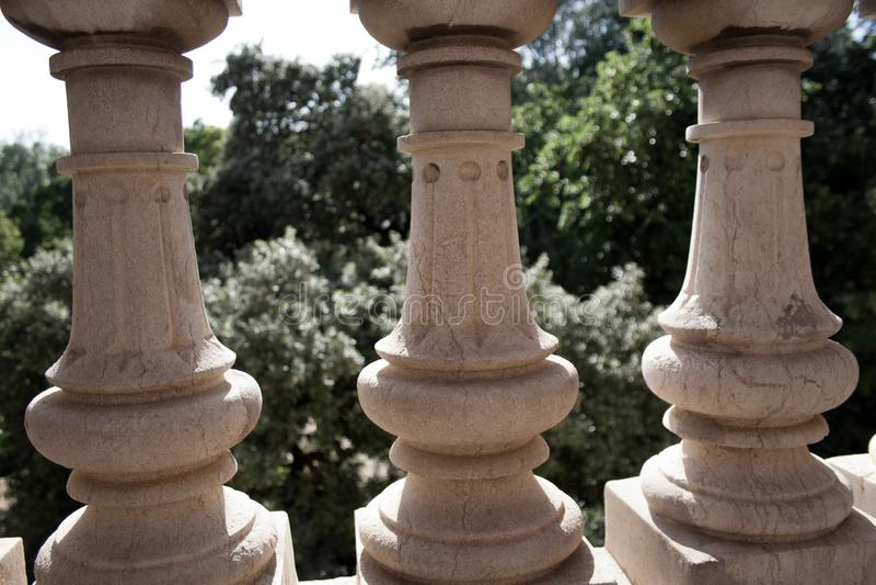 Αφηρημένη εικόνα του πάρκου Ciutadella στοκ φωτογραφία με δικαίωμα ελεύθερης χρήσης