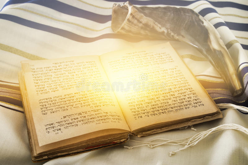 Αφηρημένη εικόνα του σαλιού προσευχής - Tallit, εβραϊκό θρησκευτικό σύμβολο στοκ φωτογραφία με δικαίωμα ελεύθερης χρήσης
