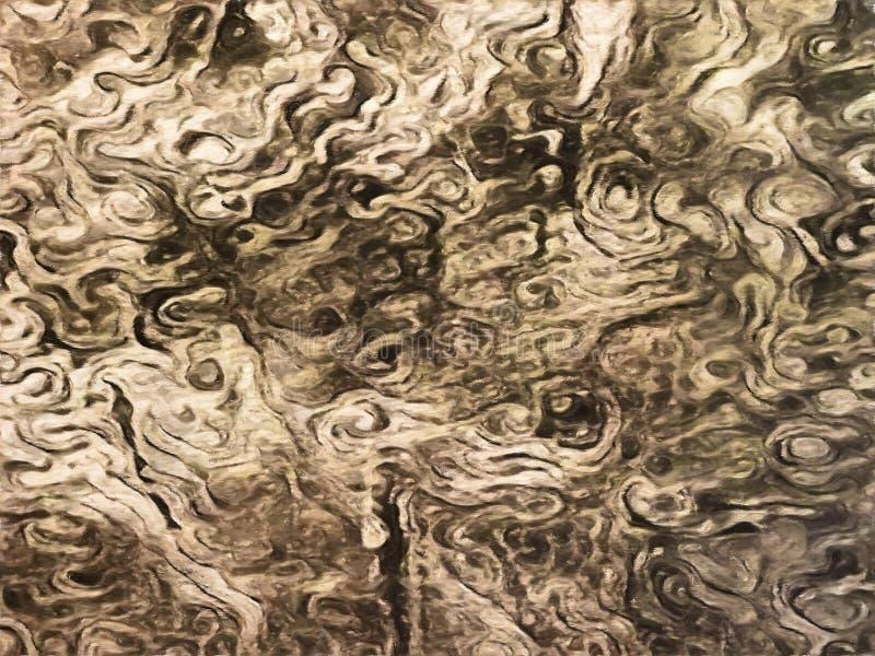 Αφηρημένη εικόνα υποβάθρου Grunge swirly ελεύθερη απεικόνιση δικαιώματος