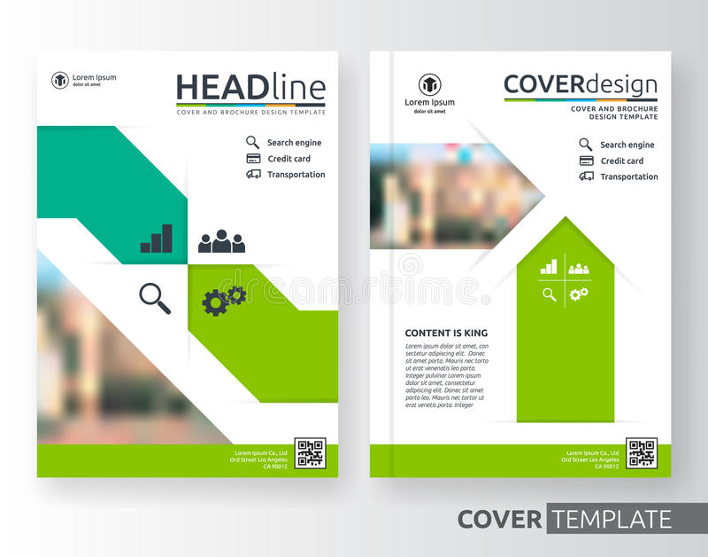 Αφηρημένη επιχείρηση και εταιρικό σχεδιάγραμμα σχεδίου κάλυψης διανυσματική απεικόνιση